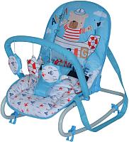 Детский шезлонг Lorelli Top Relax Blue Sailor (10110021923) -