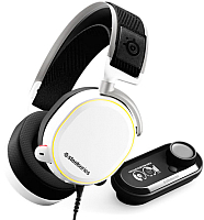 Наушники-гарнитура SteelSeries Arctis Pro + GameDAC / 61454 (белый) -