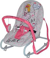 Детский шезлонг Lorelli Top Relax Pink Ballet (10110021933) -