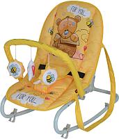 Детский шезлонг Lorelli Top Relax Yellow Bear (10110021919) -
