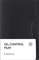 Матирующие салфетки для лица Missha Oil Control Film Blue (50шт) -