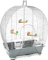 Клетка для птиц Savic Evelyne 30 (серый/серебристый) -