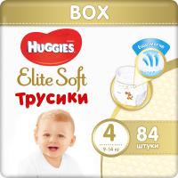 Подгузники-трусики детские Huggies Elite Soft Box L 4 (84шт) -