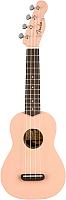 Укулеле Fender Venice Soprano Ukulele Shell Pink NRW -
