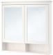 Шкаф с зеркалом для ванной Ikea Хемнэс 303.690.15 -