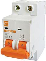 Выключатель автоматический КС ВА 47-39 2P 2А D / 80601 -