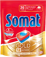 Таблетки для посудомоечных машин Somat Gold (36шт) -