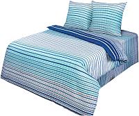 Комплект постельного белья АртПостель Кавалер Б114 (бирюзовый) -