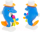 Игрушка для ванны Play Smart Дельфин / 9901 -
