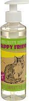 Шампунь для животных Happy Friends Для длинношерстных кошек (240мл) -