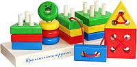 Развивающая игрушка Краснокамская игрушка Геометрик / НСК-01 -