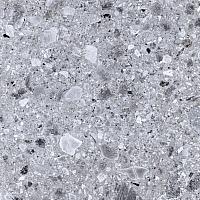 Плитка Kerranova Terrazzo Light Grey K-331/MR (600x600, матовый) -