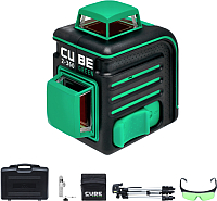 Лазерный нивелир ADA Instruments Cube 2-360 Green Ultimate Edition / A00471 -