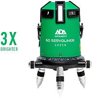 Лазерный нивелир ADA Instruments 6D Servoliner Green / A00500 -