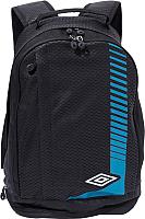 Рюкзак Umbro Medusa Backpack 30647U (черный/белый/голубой) -