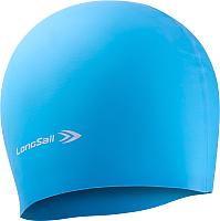 Шапочка для плавания LongSail Силикон 1/240 (голубой) -