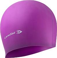 Шапочка для плавания LongSail Силикон 1/240 (фиолетовый) -