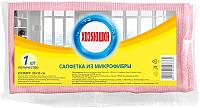 Салфетка хозяйственная Хозяюшка Микрофибра 35x35 -