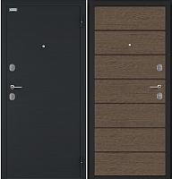 Входная дверь el'Porta Магнум Дуб Арабика (98x205, правая) -
