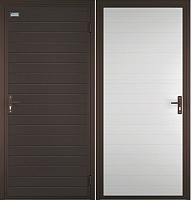Входная дверь el'Porta Миллениум Цинк (88x205, правая) -