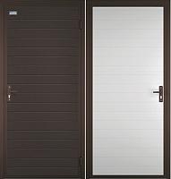 Входная дверь el'Porta Миллениум Цинк (98x205, правая) -
