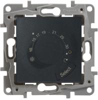 Терморегулятор для теплого пола Legrand Etika 672630 (антрацит) -