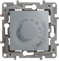 Терморегулятор для теплого пола Legrand Etika 672430 (алюминий) -