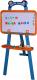 Мольберт детский Play Smart Доска знаний универсальная / 0703 -