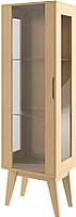 Шкаф-пенал с витриной Молодечномебель Инстант B-1 -