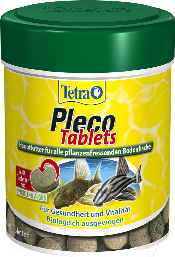 Купить Корм для рыб Tetra, Pleco Tablets / 709743/199217 (120таб), Германия