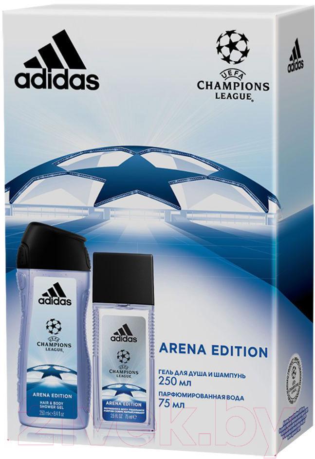 Купить Парфюмерный набор Adidas, UEFA League Champions Edition 2019 парфюм вода+гель д/душа (75мл+250мл), Испания