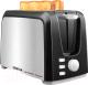 Тостер Centek СТ-1429 (черный/серебристый) -