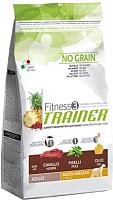 Корм для собак Trainer Fitness 3 Adult Medium/Maxi Horse & Peas (12.5кг) -