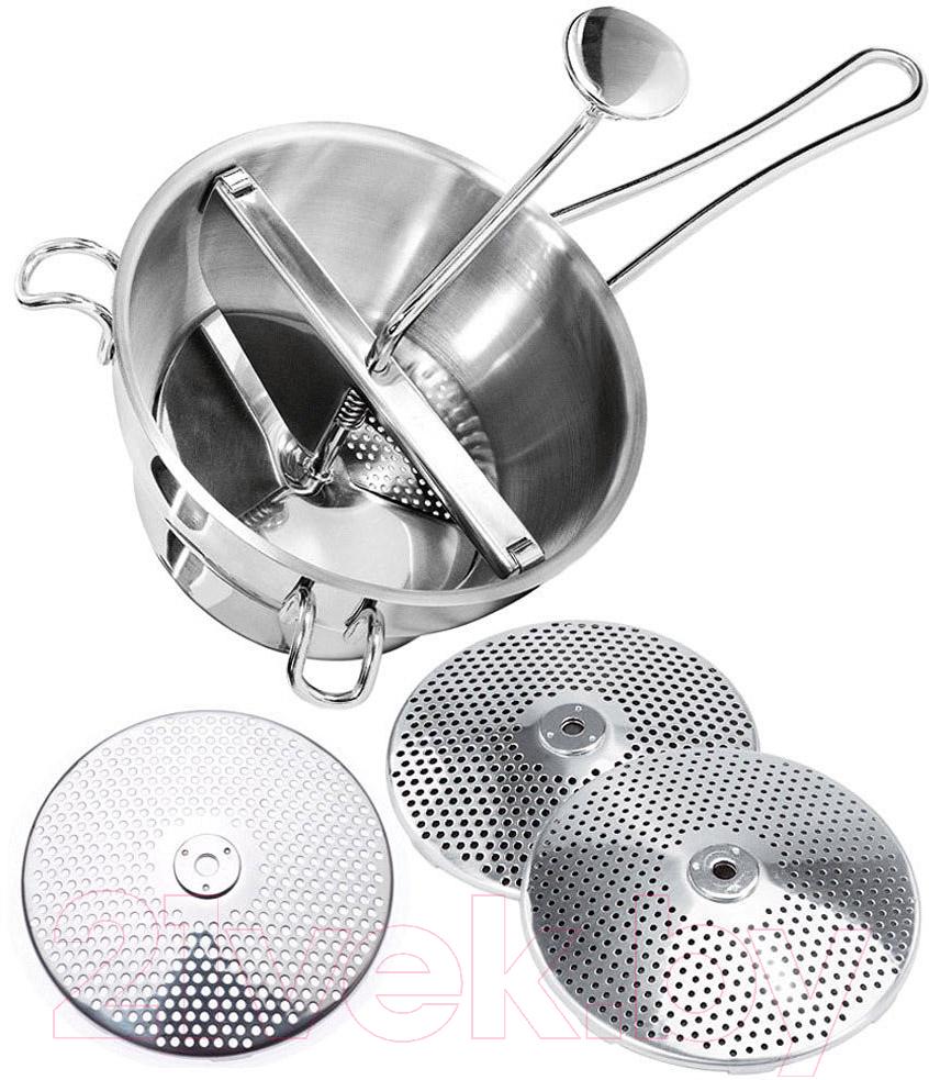 Купить Терка кухонная Gefu, Флотте Лотте / 24200, Китай, серебристый, нержавеющая сталь