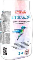 Фуга Litokol Litocolor L.12 (2кг, темно-серый) -