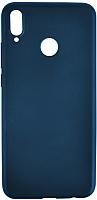 Чехол-накладка Case Deep Matte для Honor 8X (матовый синий) -