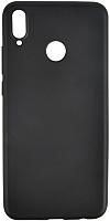 Чехол-накладка Case Deep Matte для Honor 8X (матовый черный) -