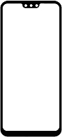 Защитное стекло для телефона Case Full Glue для Honor 8X (черный глянец) -
