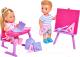 Набор кукол Simba Куколка Эви и Тимми на уроке / 105733210 -