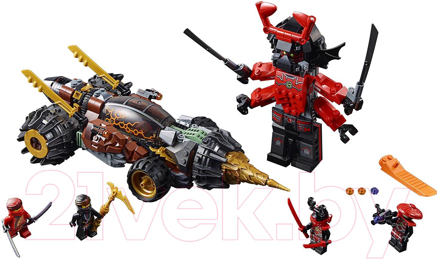 Купить Конструктор Lego, Ninjago Земляной бур Коула 70669, Китай, пластик