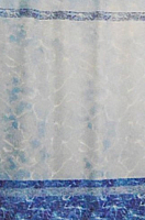 Шторка-занавеска для ванны Miranda Mermer Su Blue -