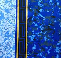 Шторка-занавеска для ванны Miranda Emerald Blue -