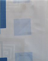 Шторка-занавеска для ванны Miranda Lykia Blue -