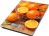 Кухонные весы Lumme LU-1342 (апельсиновый фреш) -