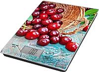 Кухонные весы Lumme LU-1342 (садовая вишня) -