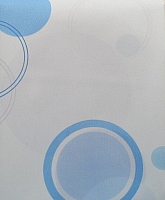 Шторка-занавеска для ванны Miranda Circle Blue -