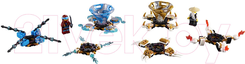 Купить Конструктор Lego, Ninjago Ния и Ву: мастера Кружитцу 70663, Китай, пластик