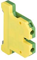 Зажим на DIN-рейку EKF PROxima PLC-EK-6/40 (земля) -