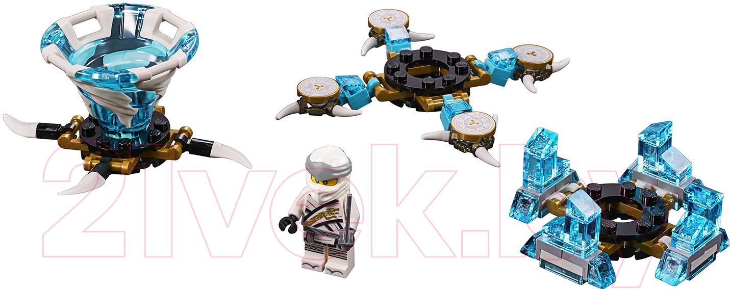 Купить Конструктор Lego, Ninjago Зейн: мастер Кружитцу 70661, Китай, пластик