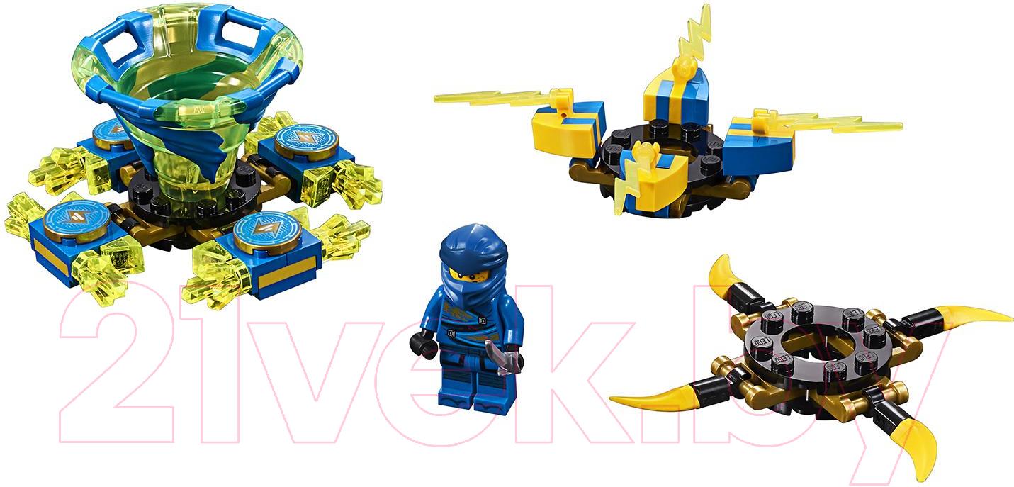 Купить Конструктор Lego, Ninjago Джей: мастер Кружитцу 70660, Китай, пластик